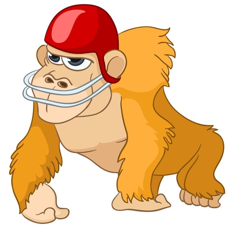 Cartoon Character Monkey Vector