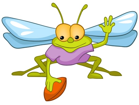 baby toy: Cartoon Character Fly