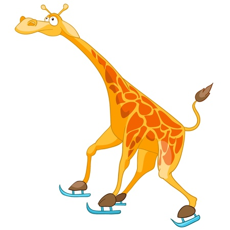 babyish: Cartoon Character Giraffe
