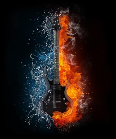electric storm: Electric Guitar
