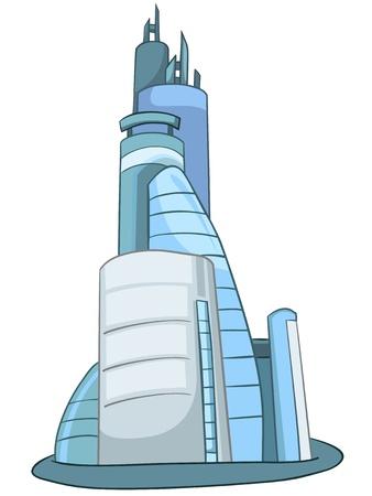 architectural styles: Cartoon Skyscraper