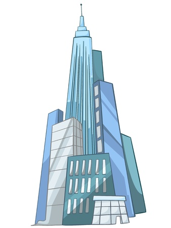 Cartoon Skyscraper