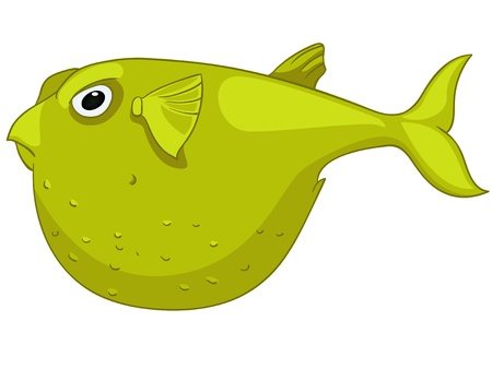 Cartoon Character Fish Stock Vector - 12043662
