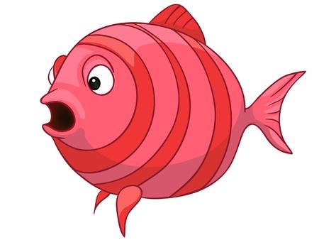 Cartoon Character Fish Stock Vector - 12043657