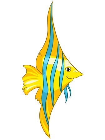 Cartoon Character Fish