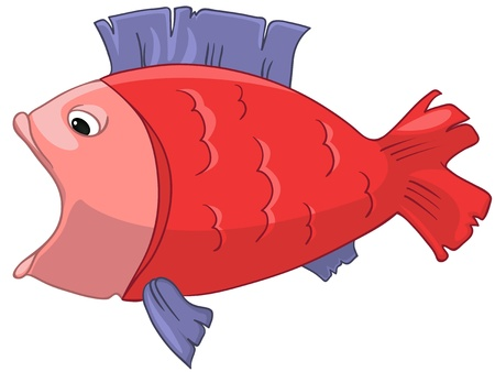 Cartoon Character Fish Stock Vector - 12043666