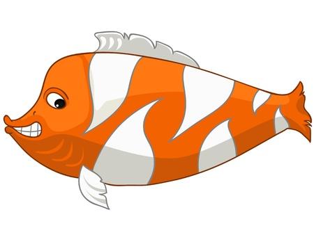 Cartoon Character Fish Stock Vector - 12043663