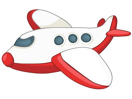 Avión de dibujos animados Foto de archivo - 12043683