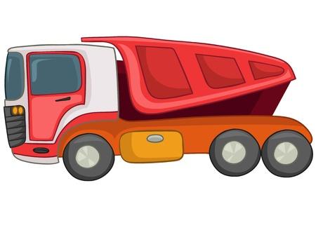 Cartoon Truck Stock Vector - 12043680