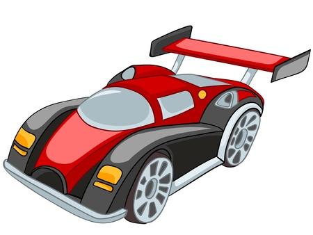 Dibujos animados de coches Ilustración de vector