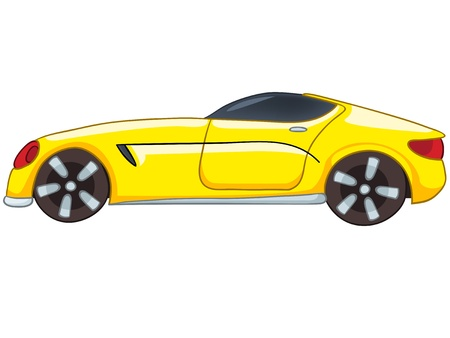 car isolated: Cartoon Car