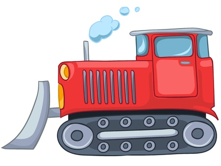Cartoon Tractor