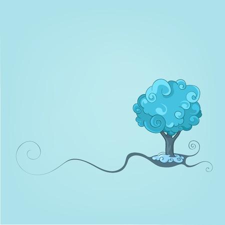 clr: Tree Design Illustration