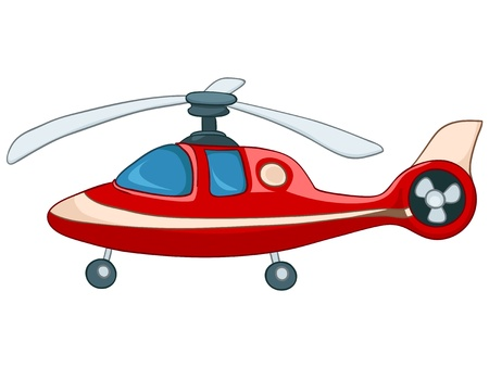 helicopters: Cartoon Helicopter