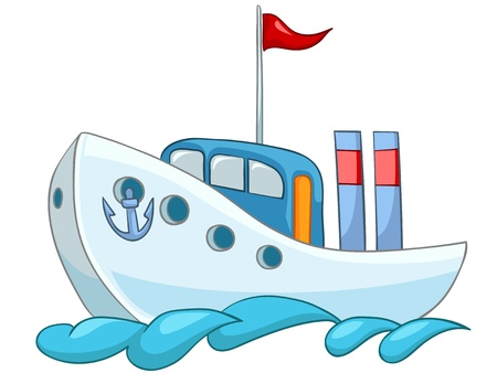 transportation cartoon: Cartoon Ship