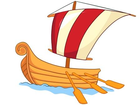 cruising: Cartoon nave