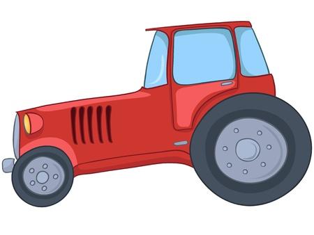 heavy: Cartoon Tractor