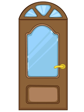 door: Cartoon Home Door