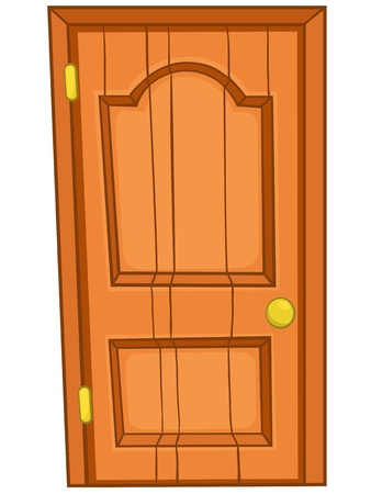 entrance door: Cartoon Home Door