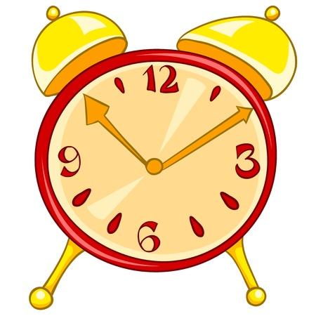 midday: Cartoon Home Clock