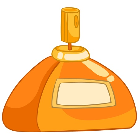 fragrance: Cartoon Thuis Parfum Stock Illustratie