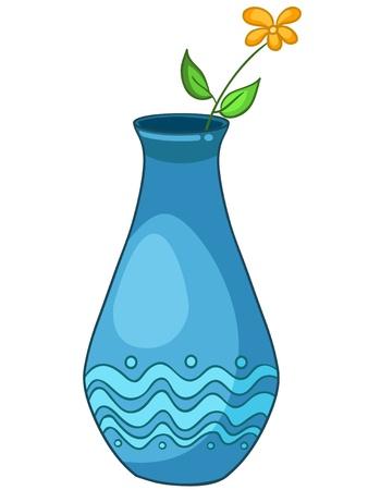 vase: Cartoon Home Vase