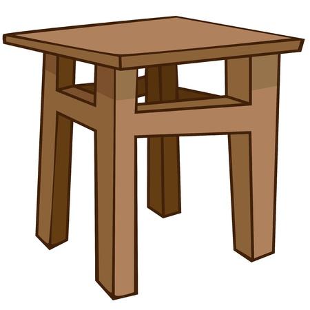 sgabelli: Cartoon Casa Chair Furniture Vettoriali