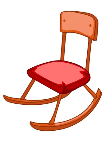 old furniture: Cartoon Home Furniture Chair