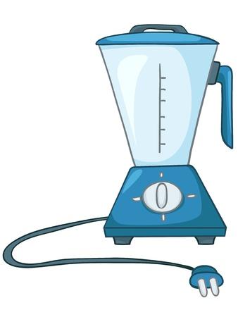 licuadora: Cartoon Inicio licuadora de cocina Vectores