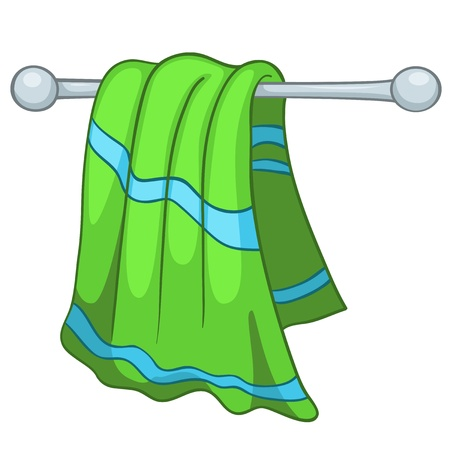 Cartoon Casa asciugatutto Vettoriali