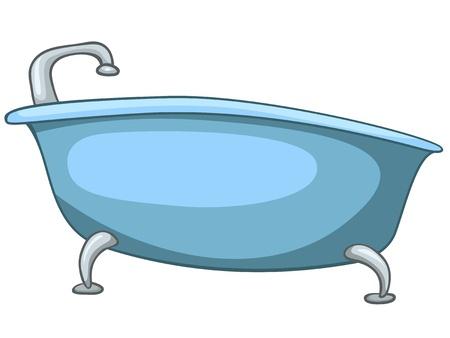 ванная комната: Мультфильм Главная туалетных комнат ванна