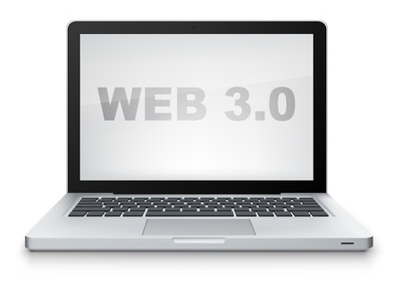 Web 3 0 Stock Vector - 12491727