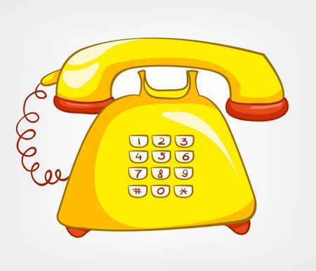 Cartoons Home Appliences Phone Stock fotó - 12491737