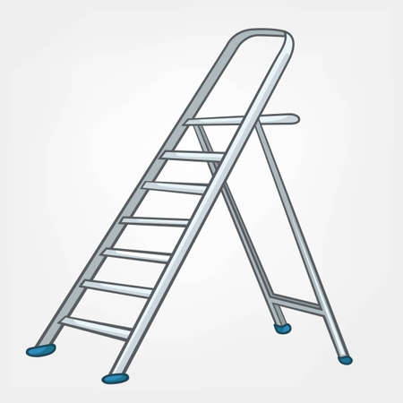 miscellaneous: Cartoon Home Miscellaneous Ladder