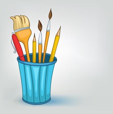 Cartoon Startpagina Diversen Pencil Set
