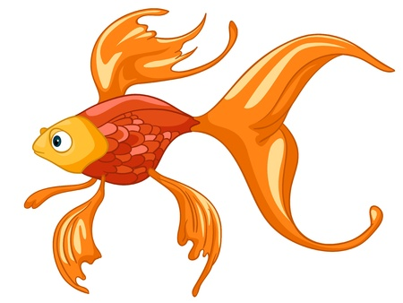 Cartoon Character Fish Stock Vector - 12996648