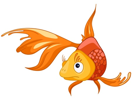 만화 캐릭터 물고기