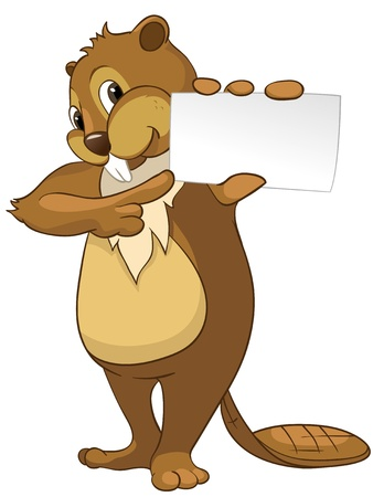 Beaver CREES Ilustração