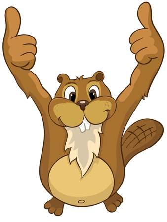 biber: Beaver Cree Illustration