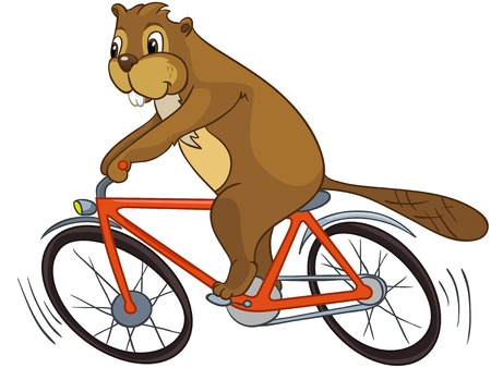 Beaver CREES Stock Illustratie