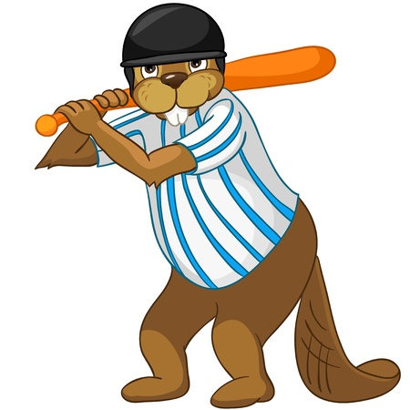 Beaver CREES Ilustracja