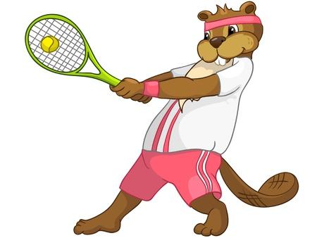 Beaver CREES Illustration