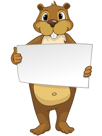 Beaver CREES Stock Vector - 13051369