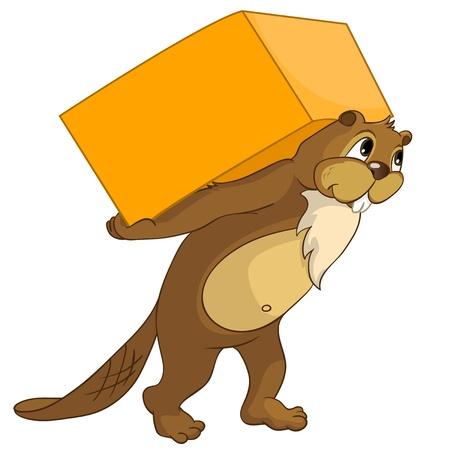 Beaver CREES 向量圖像