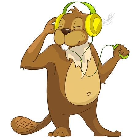 crees: Beaver CREES Stock Photo
