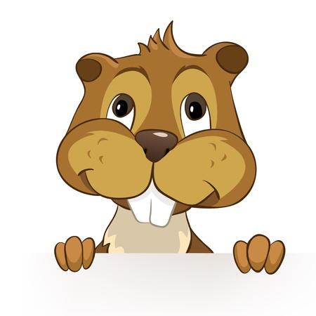 crees: Beaver CREES Illustration