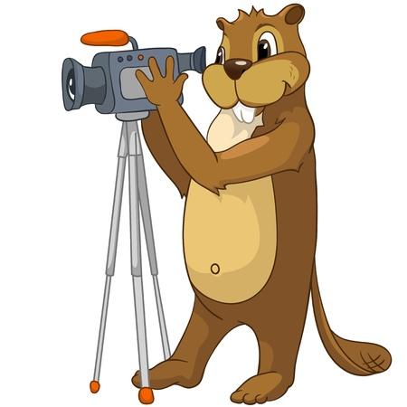 Beaver CREES Vectores