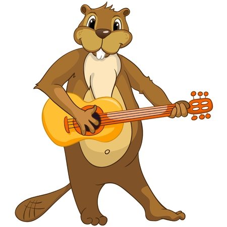 Beaver CREES Stock Vector - 13185767