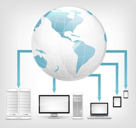 notebook computer: Global Concept