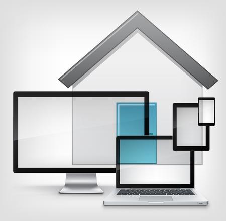 Home Concept  Stock Vector - 13387414